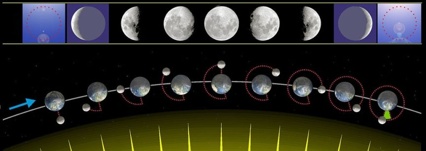 Moon Phases From Earth